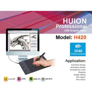 [PO] Huion H420 Tablet