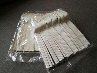 🆕 100 pcs Disposable Forks