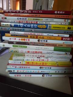 Assorted Chinese Hui hua books