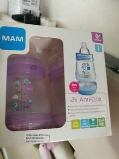 MAM anticolic milk bottle 160ml