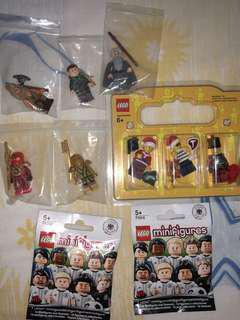 LEGO minifigures bundle !