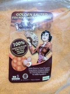 [1 kg] Golden Salted Egg/Egg Yolk Powder 'MADAM KWAN'