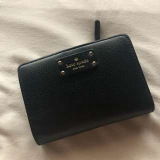Authentic Kate Spade Black Wallet