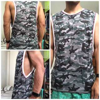Mens Tank Top (Camouflage)