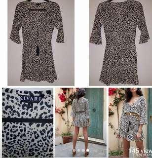 Kivari Roma Leopard Mini Dress
