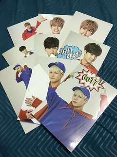 [WTS][READY STOCK][RARE] GOT7 1st Concert Photocard Set