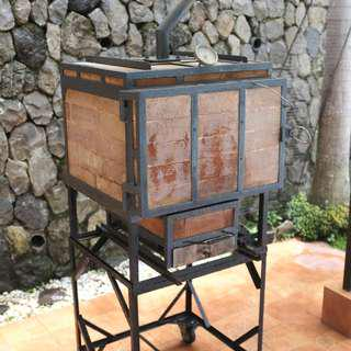 Fire Brick Oven Charcoal with Stand