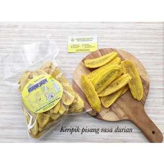 Keripik Pisang Lampung rasa Durian