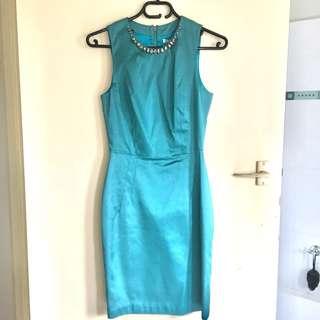 Teal Maticevski Sweethearts formal dress