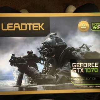 LeadTek GTX1070 Founder Edition Gaming GPU Card $600