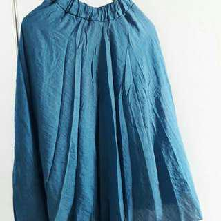 Rok blue non galiya loose flowy
