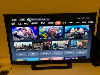 SONY LED TV 32inch 32R300D with XiaoMi Box 3 (Root)