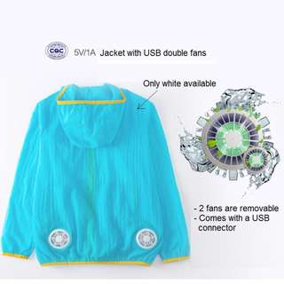 Air conditioned Cooling Jacket