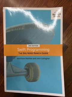 Big Nerd Ranch guide Swift programming Matt Mathias John Gallagher