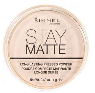 🚚 Rimmel Stay Matte Pressed Powder in Transparent