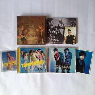 DBSK TVXQ Official album and photocard Changmin Yunho