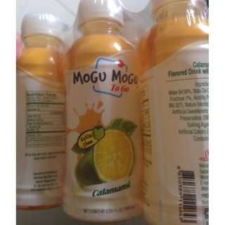 Mogu Mogu To Go 3 flavors pack of 6 products of Thailand