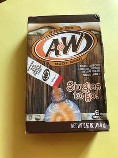 A&W Root Beer Drink Mix