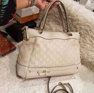 Gucci guccisima Mayfair ivory