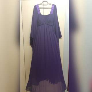 Kaftan Purple Dress (Envee)