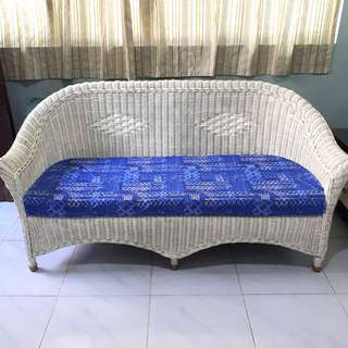 Rattan Wicker Sofa