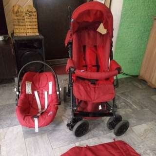 Stroller w/ car seat