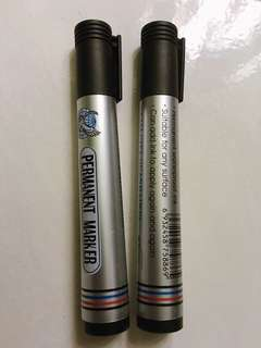 Permanent marker pen (2pcs)