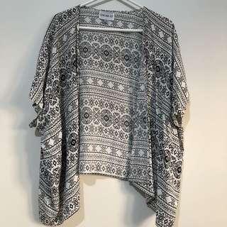 Black/White Kimono S/M