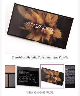 Smashbox metallic eye shadow
