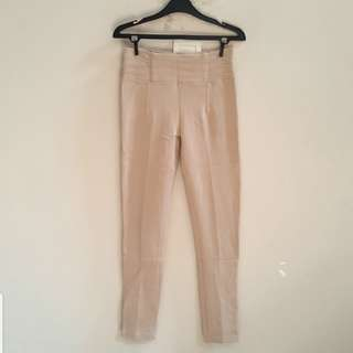 Zara Basic Beige Pants