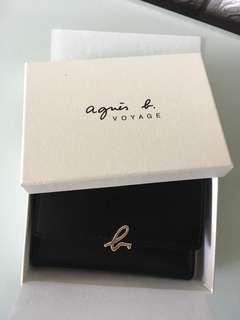 Agnes b Card Holder 全新有盒