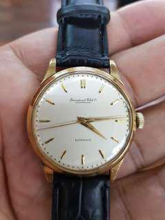 Vintage IWC Schaffhausen Solid 18K Gold (Automatic)