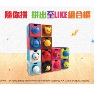 7-11 Disney Tsum Tsum「百變組合BOX」印花