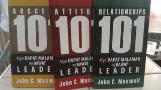 Leadership 101 set johnmaxwell