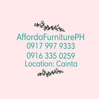 2nd Hand Furniture Available Here!