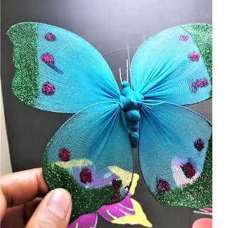 Hanging Butterfly Silk Screen | Baby/Bed/Living Room/Outdoor Decor & Event Giveaways