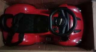 🚚 全新未拆箱Jaguar 授權兒童電動車紅色兒童電動汽車高雄仁武可面交建議要會組裝的才買