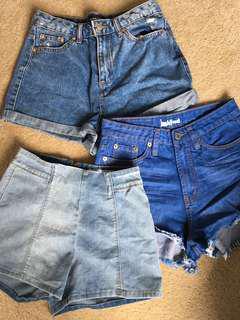 Jean Shorts Size 8 (Bulk)