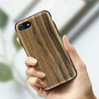 (Soft) Wood & Rock Marble iPhone Case