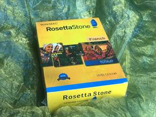 Rosetta Stone FRENCH Language Learning Kit