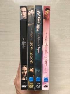 The Twilight Saga DVDs
