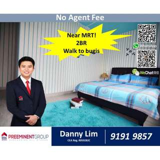 2 Bedroom * Beside Jalan Besar MRT