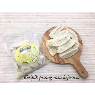 Keripik Pisang Lampung rasa Keju Susu