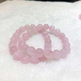 粉紅摩根石 (粉晶 水晶)