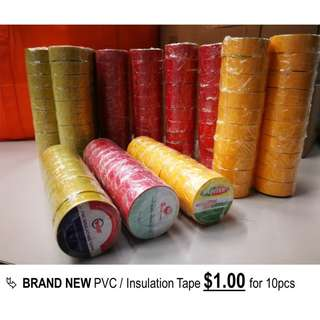 PVC/Insulation Tapes