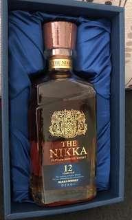 Nikka Premium Blended Whisky 12 years 日本 威士忌 連盒