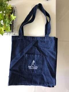 Johnny Walker Limited Edition Denim Tote Bag