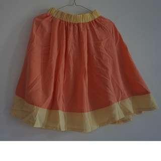 Simple Peach Skirt