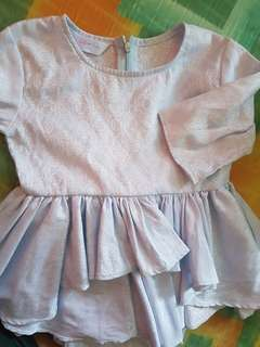 peplum baju raya Belle Babbies