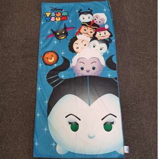 Disney Villains Tsum Tsum Dark Blue Background Vertical Design Towel